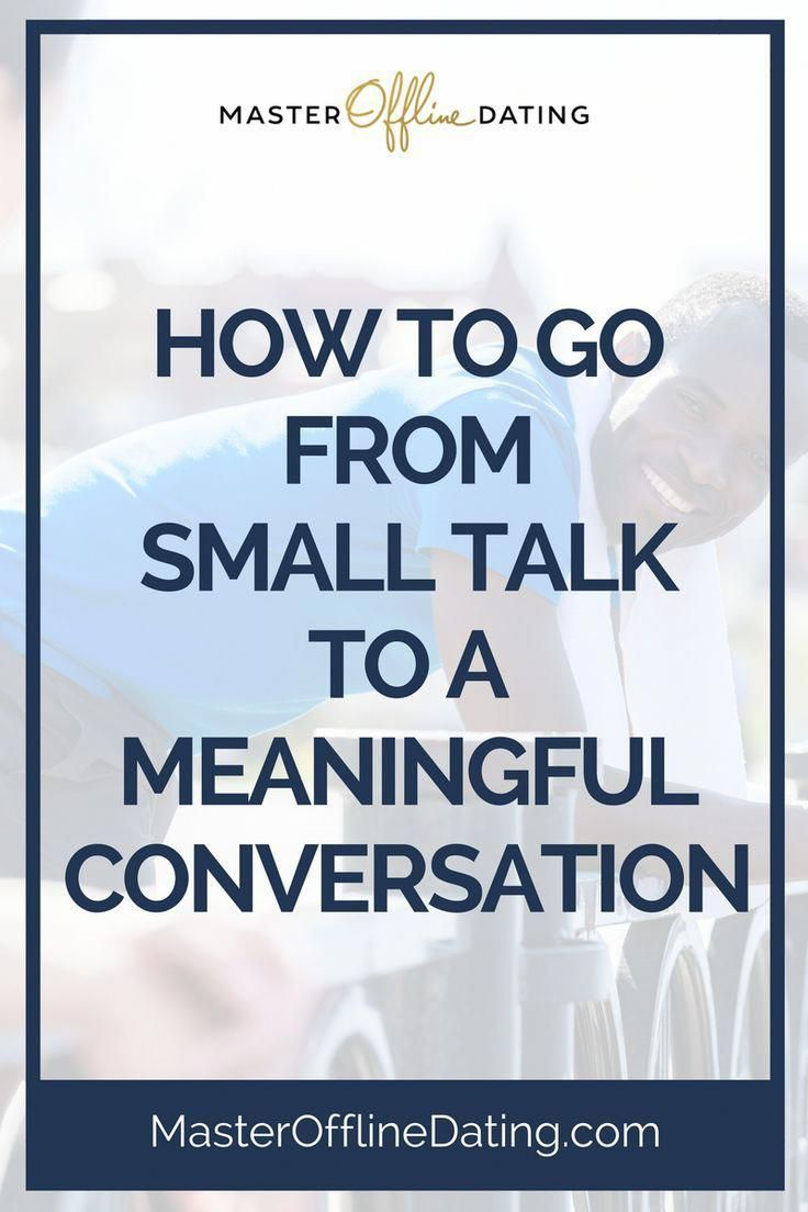 Conversation skills for dating