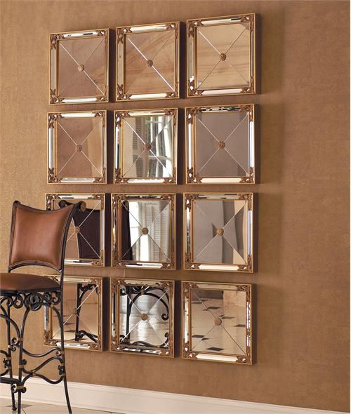 Square Mirrors by La Barge Inc. on HomePortfolio