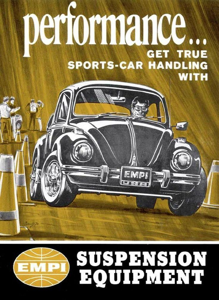 Accesorios Empi para VW. USA. Décda 1960