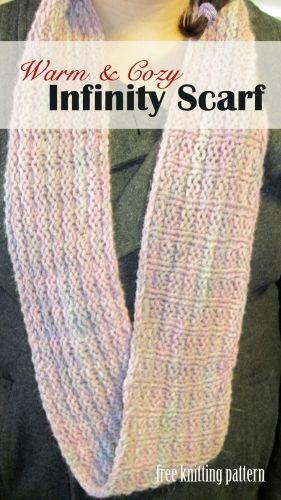 Easy Infinity Scarf Knitting Pattern Circular Needles : Pinterest   The world s catalog of ideas