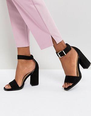 32e72e8a4 Черные босоножки на блочном каблуке RAID Imani | Катюша имидж-проект ...