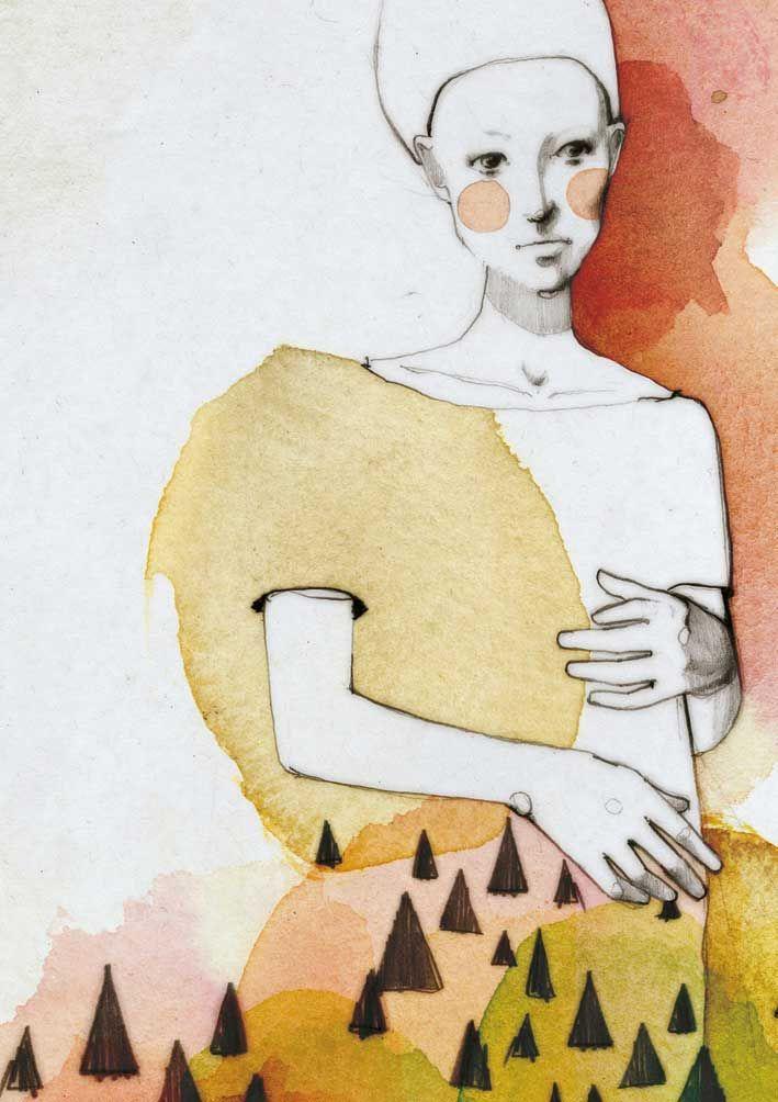 Ekaterina Koroleva ... #drawing #art #painting