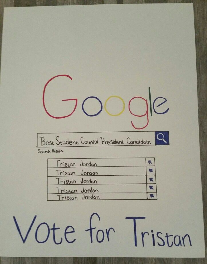 student council poster ideas - Google Search | a | Pinterest ...