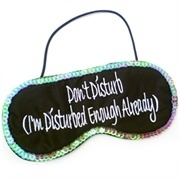 Funny Gifts For Women | Do Not Disturb Eye Mask | Thumbnail