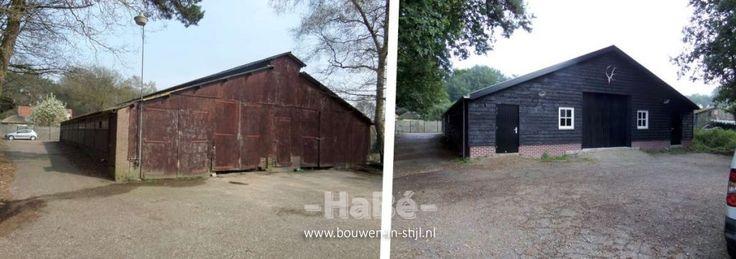Metamorfose schuur en loods in Nijkerk - HaBé | Bouwen in Stijl
