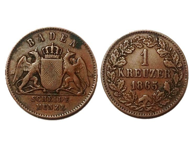 German Kreuzer of Baden (1865)