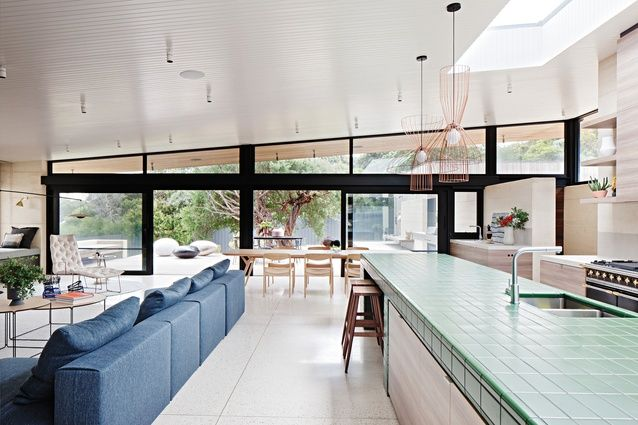 Of its place: Layer House