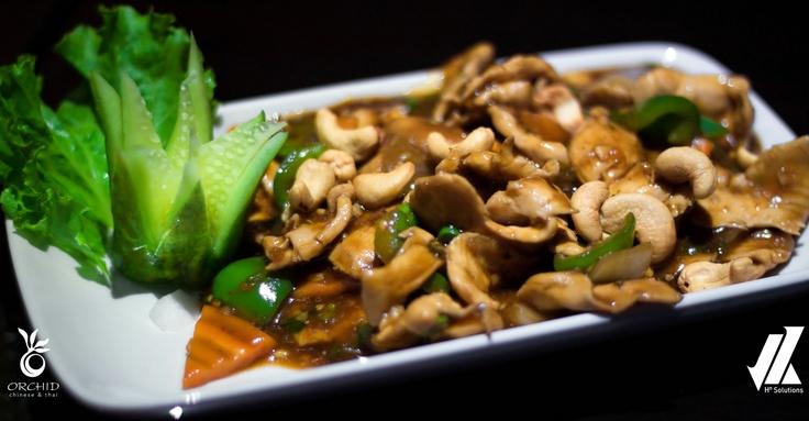 Thai Chicken with Cashew nuts