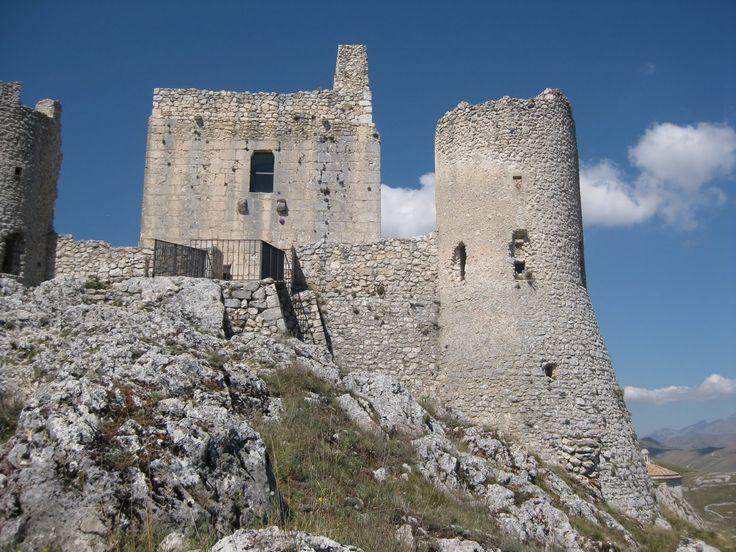Rocca Calascio -ingresso-