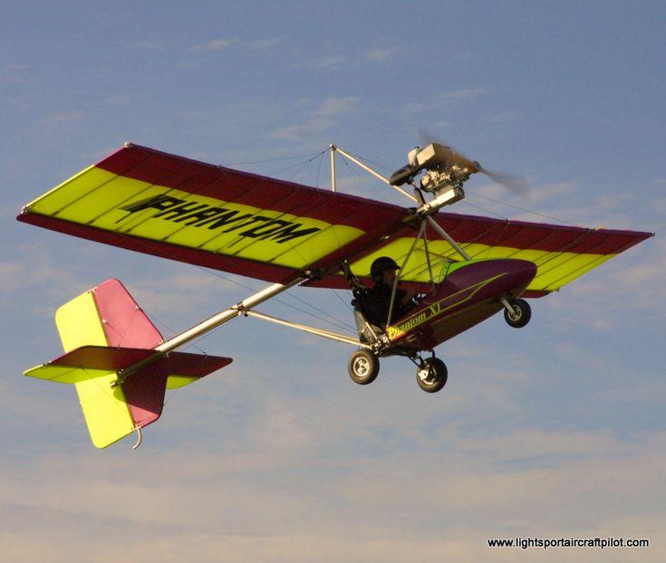 Phantom X1E ultralight aircraft, experimental light sport aircraft (ELSA), Lightsport Aircraft Pilot News newsmagazine.