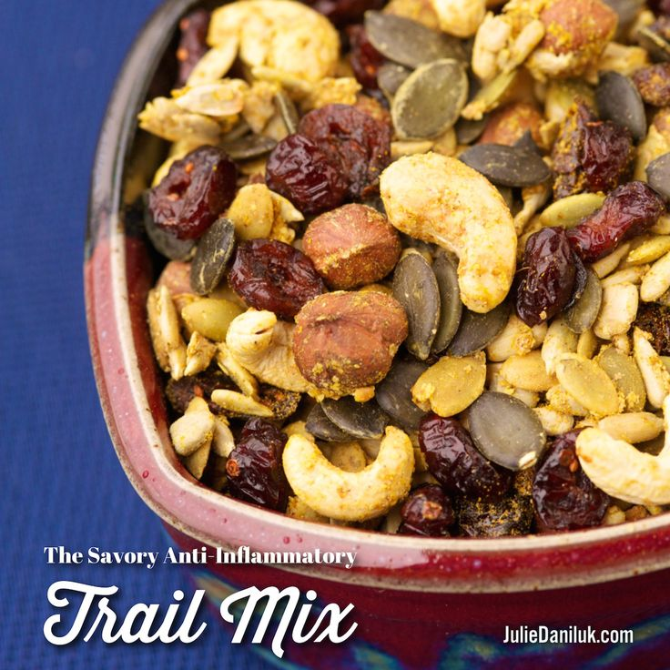 Savory Anti-Inflammatory Trail Mix