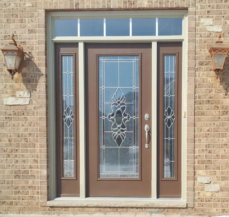 Provia legacy steel entry door exterior color tudor for Entry door with storm door