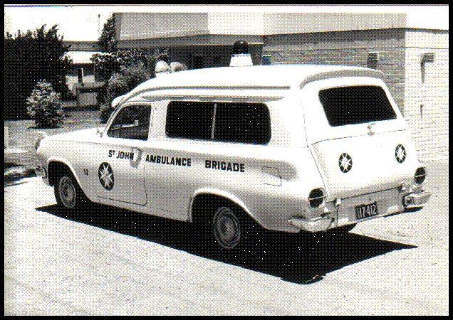 EJ Holden ambulance