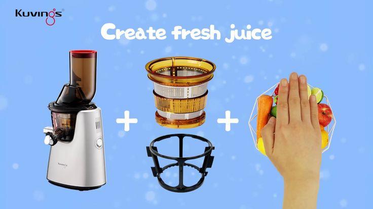 Kuvings Whole Slow Juicer C7000(C9500) - Multipurpose Attachments