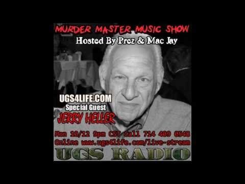 Jerry Heller Fires Back! Murder Master Music Show Interview Oct 2015