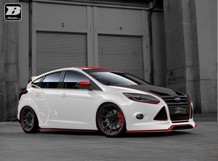 2012 SEMA Ford Focus preview from Brien Ford