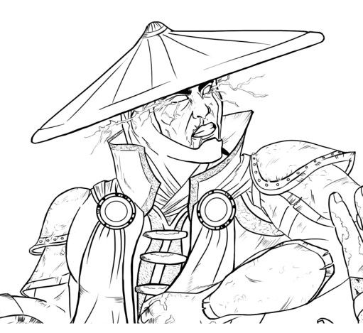 Mortal Kombat Proyect, Line Art Storm Lord.