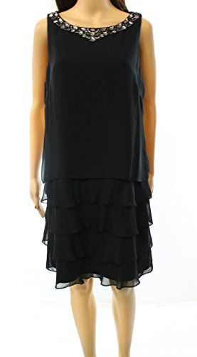Jessica Howard Womens Petite Tiered Embellish Dress Black... https://www.amazon.com/dp/B01N2OO3TG/ref=cm_sw_r_pi_dp_x_XcqOybEA3QMAE
