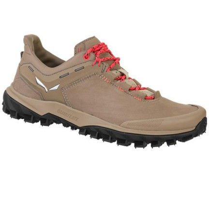 Chaussure Salewa Ws Wander Hiker Chaussure de randonnée, running, course à pied pour femme La Wander Hiker Leather est une chaussure de randonnée alpine décolletée avec une doublure en cuir nubuck robuste, composée d'une semelle intercalaire et semelle SALEWA MICHELIN.