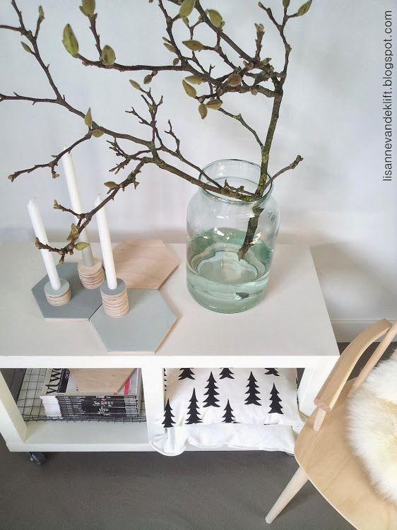 Lisanne van de Klift: New in my shop - Kandelaarset Nova