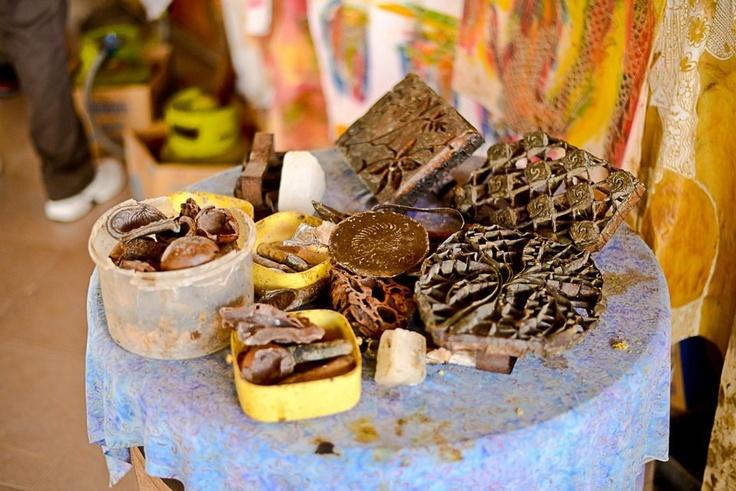 Malam , cap and etc for making batiks
