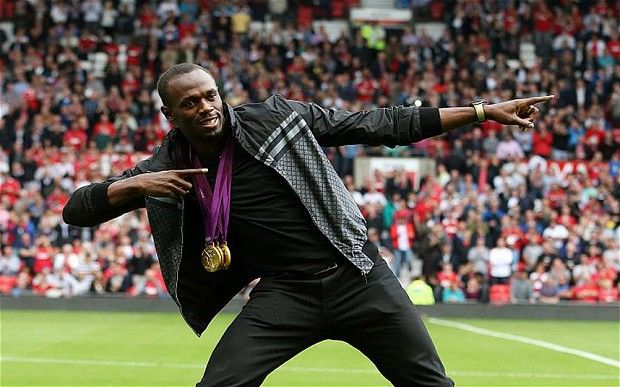Usain Bolt talks Manchester United & admits he wanted Jurgen Klopp to take over (Video)
