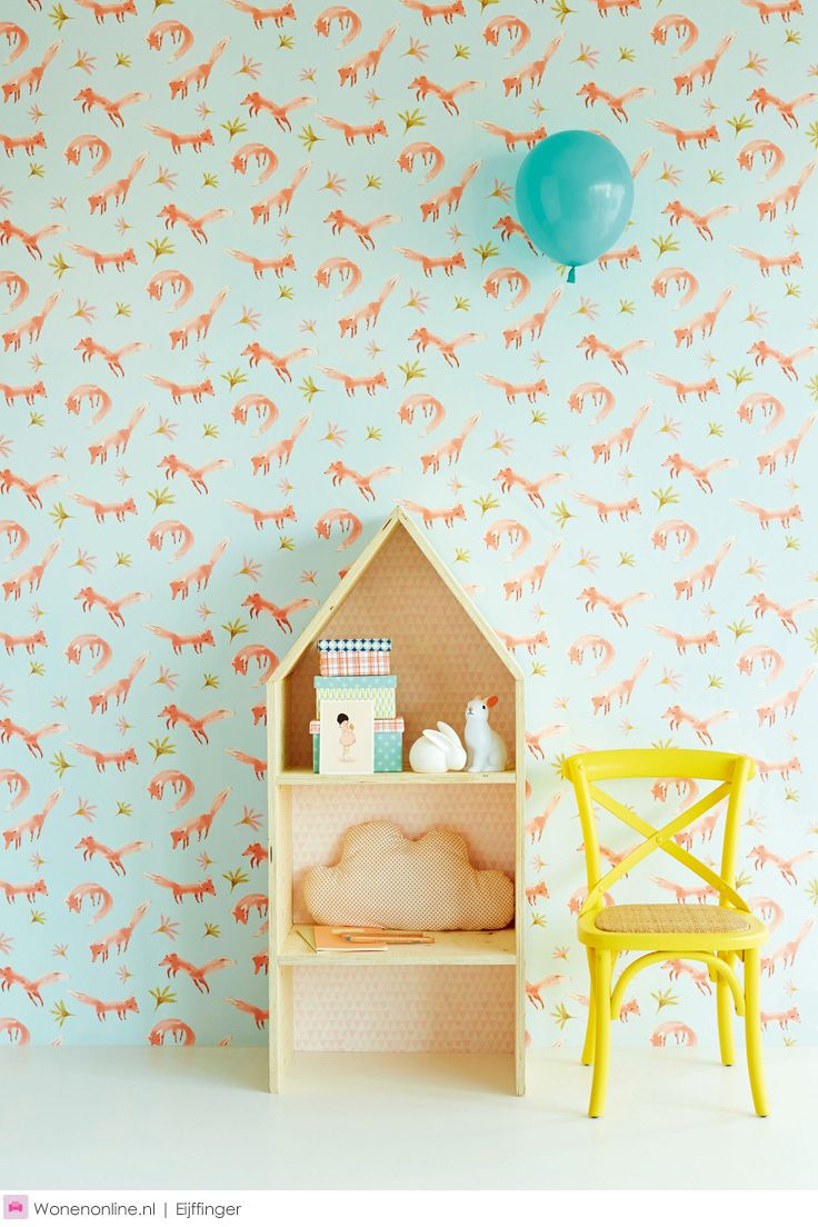 I cannot begin to express my excitement over this wallpaper!!                Behangcollectie Tout Petit van Eijffinger