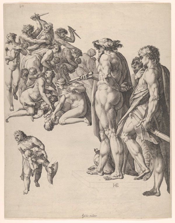 Massacre of the Innocents (Hendrick Goltzius)