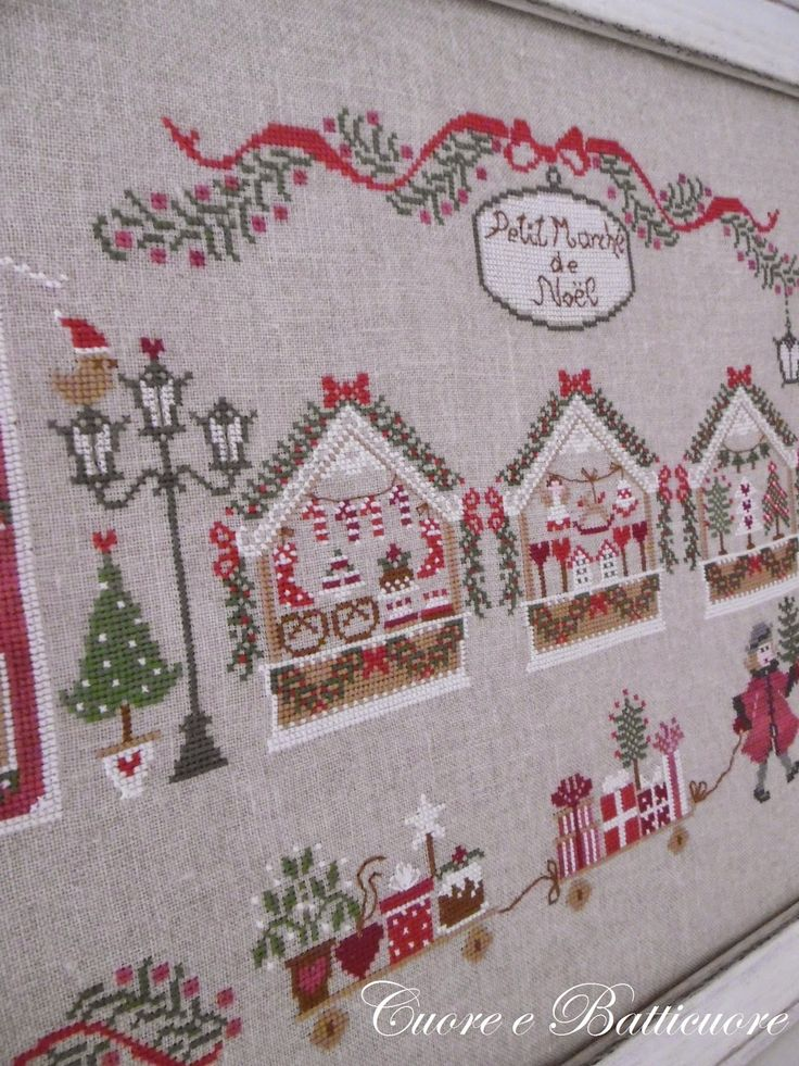 Petit Marché de Noel -- noooooooo; don't you just hate it when there is a gorgeous pin, and it leads to a site where there is no translator and no pattern??