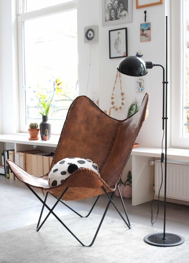 Butterfly chair | Photographer Anke Leunissen | Styling Kim de Groot | Text Floor Roelvink | vtwonen December 2015