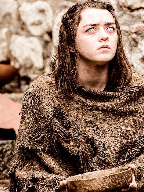 swordofsnow: Game of Thrones Saison 6 portrait d'Arya Stark