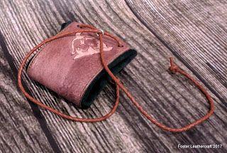 Foster Leathercraft: Dice Bag, Bison