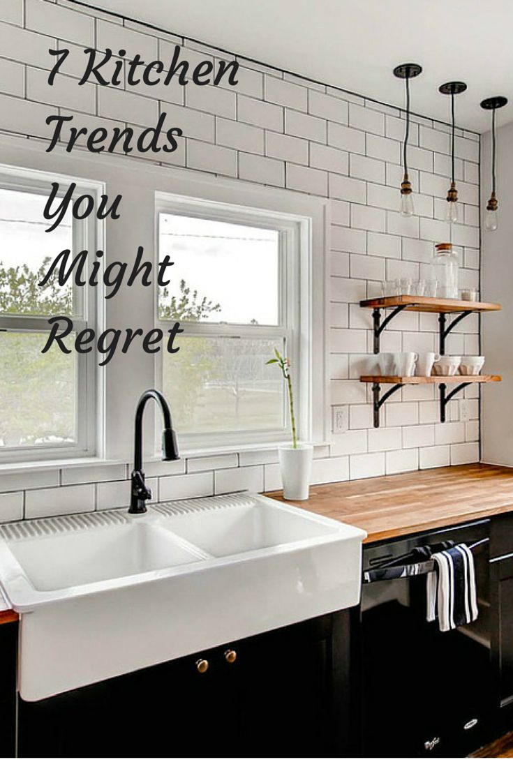Kitchen trends you might regret