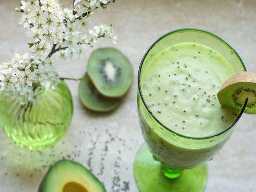 Zelené ovocné smoothie