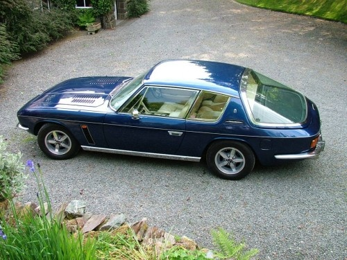 Jensen Interceptor - nice fish bowl back window... Is this sort of thing up your street? @John Paul Thurlow