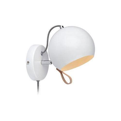 Bildresultat för lampa rund vit