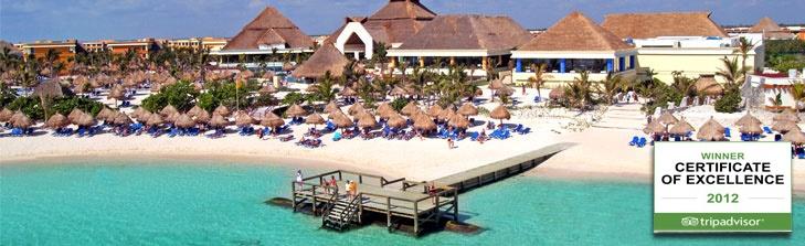 Gran Bahia Principe Akumal hotel - pre-yoga training resort - yay!!