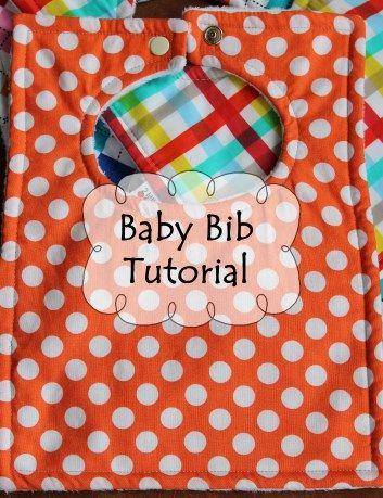Fat Quarter Friday {Baby Bib Tutorial}