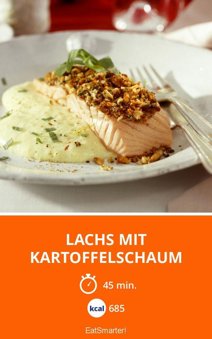 Lachs mit Kartoffelschaum - smarter - Kalorien: 685 Kcal - Zeit: 45 Min. | eatsmarter.de
