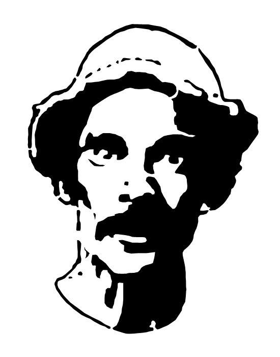 stencil de personajes famosos - Buscar con Google