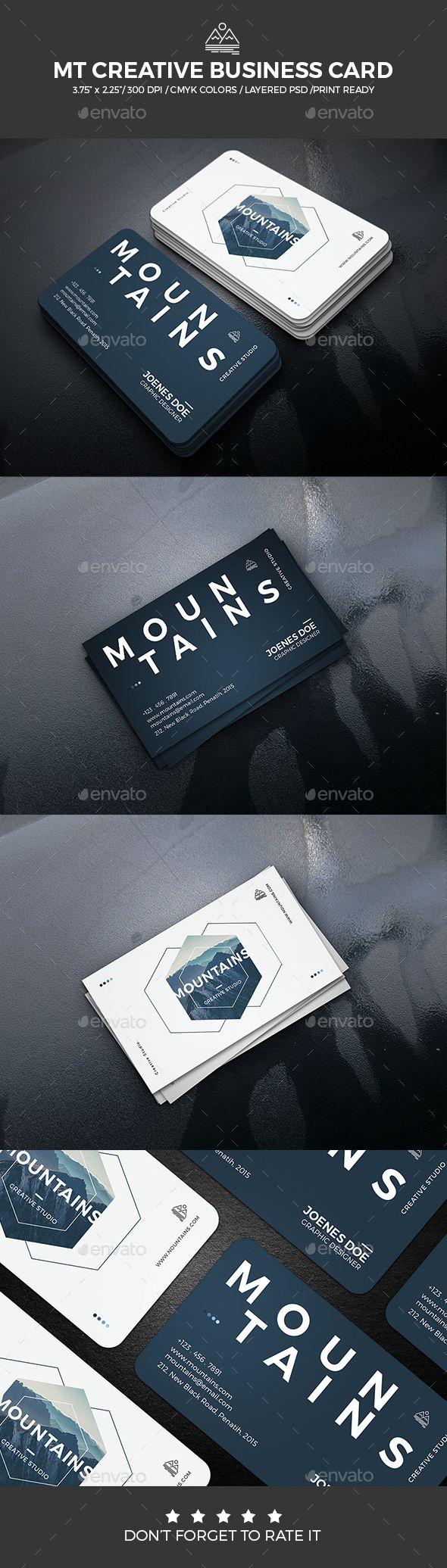 MT Creative Business Card