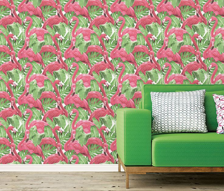 Pink Flamingo wallpaper!