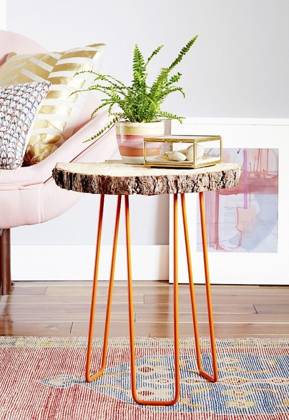Image Result For Make Your Own Coffee Table With Wood Slab