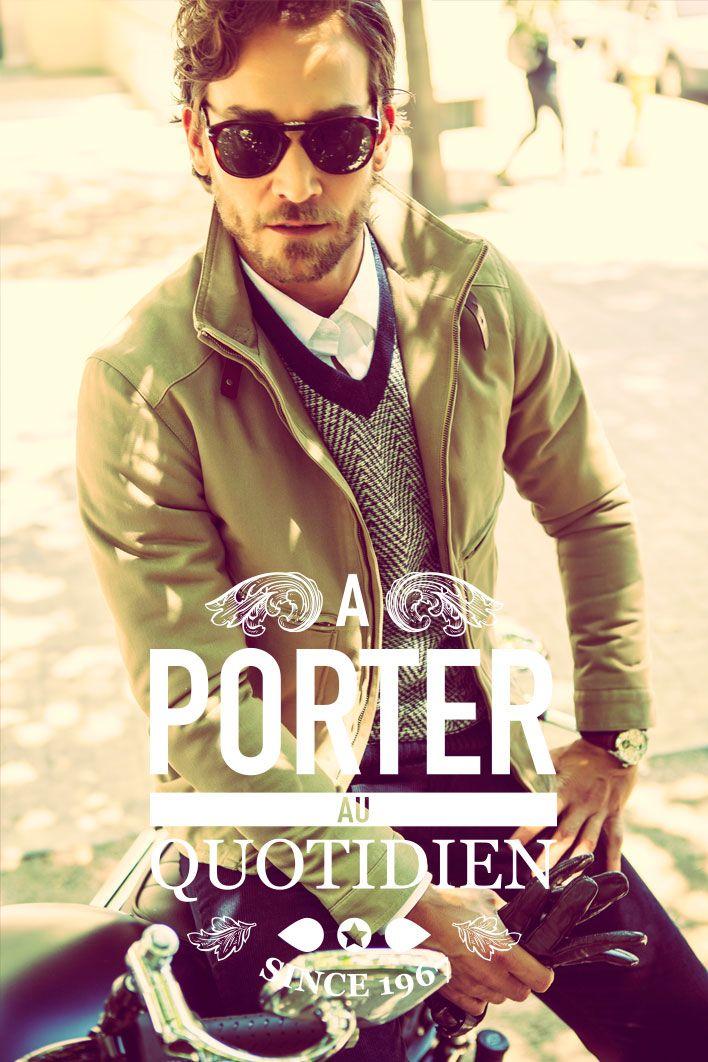 Colección Otoño · Invierno 2015 #NewMan / A Porter Au Quotidien