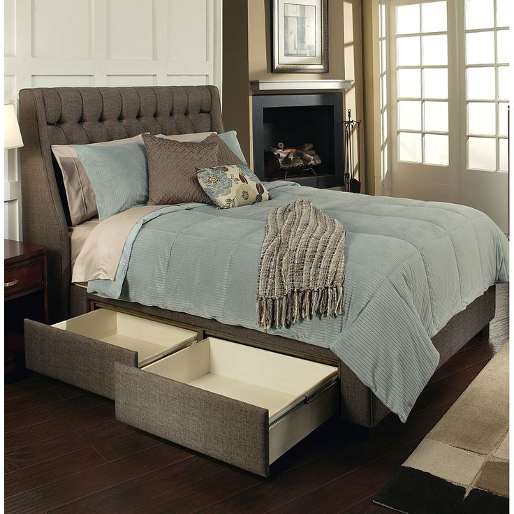 Cambridge Upholstered Storage Bed By Seahawk Designs