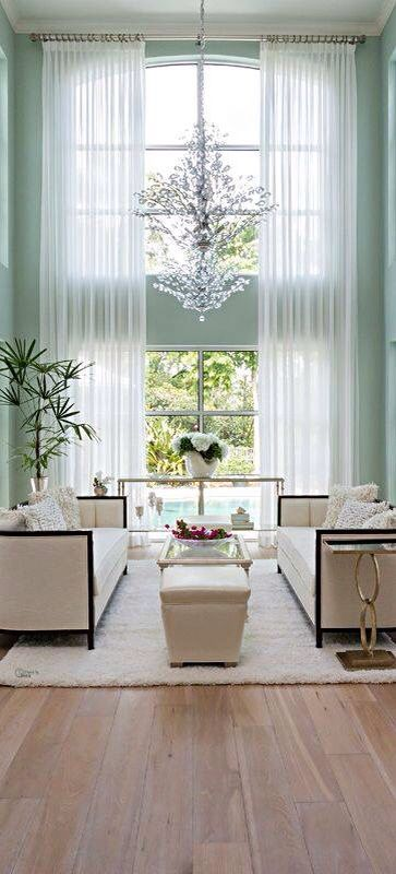 9 Best High Ceiling Window Treatment Images On Pinterest