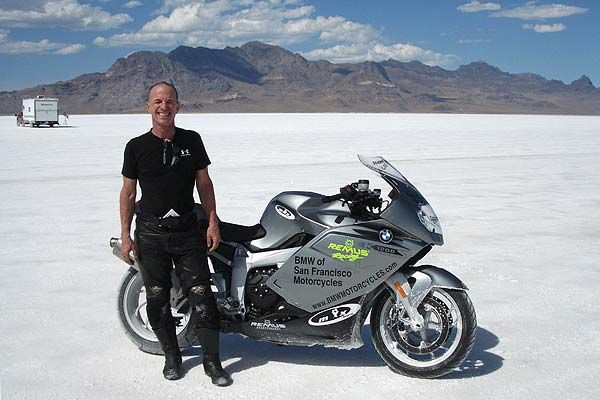 Ken Rockwell land speed record on  BMW K1200S Motorcycle , gray , http://www.PashnitMoto.com #bmw #motorcycle #k1200s