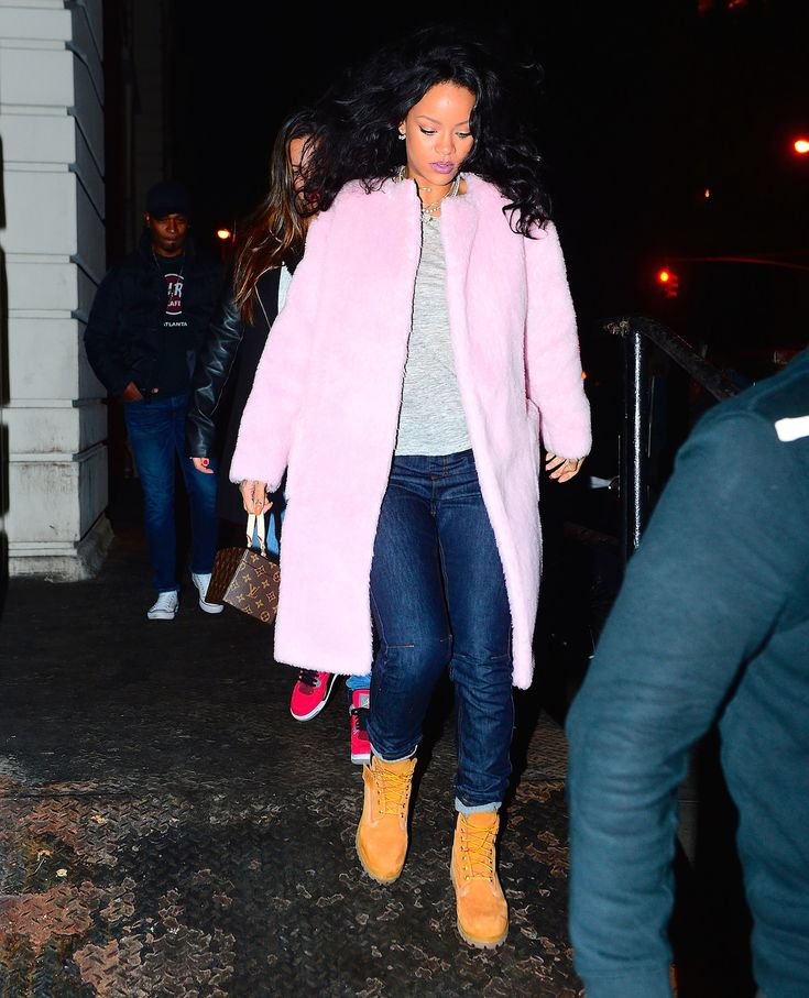 Rihanna's New Shoe Collection for Manolo Blahnik Was Inspired by Timberland Boots - Vogue