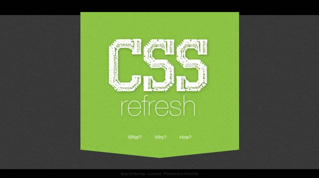 CSSrefresh - Automatically refresh CSS files
