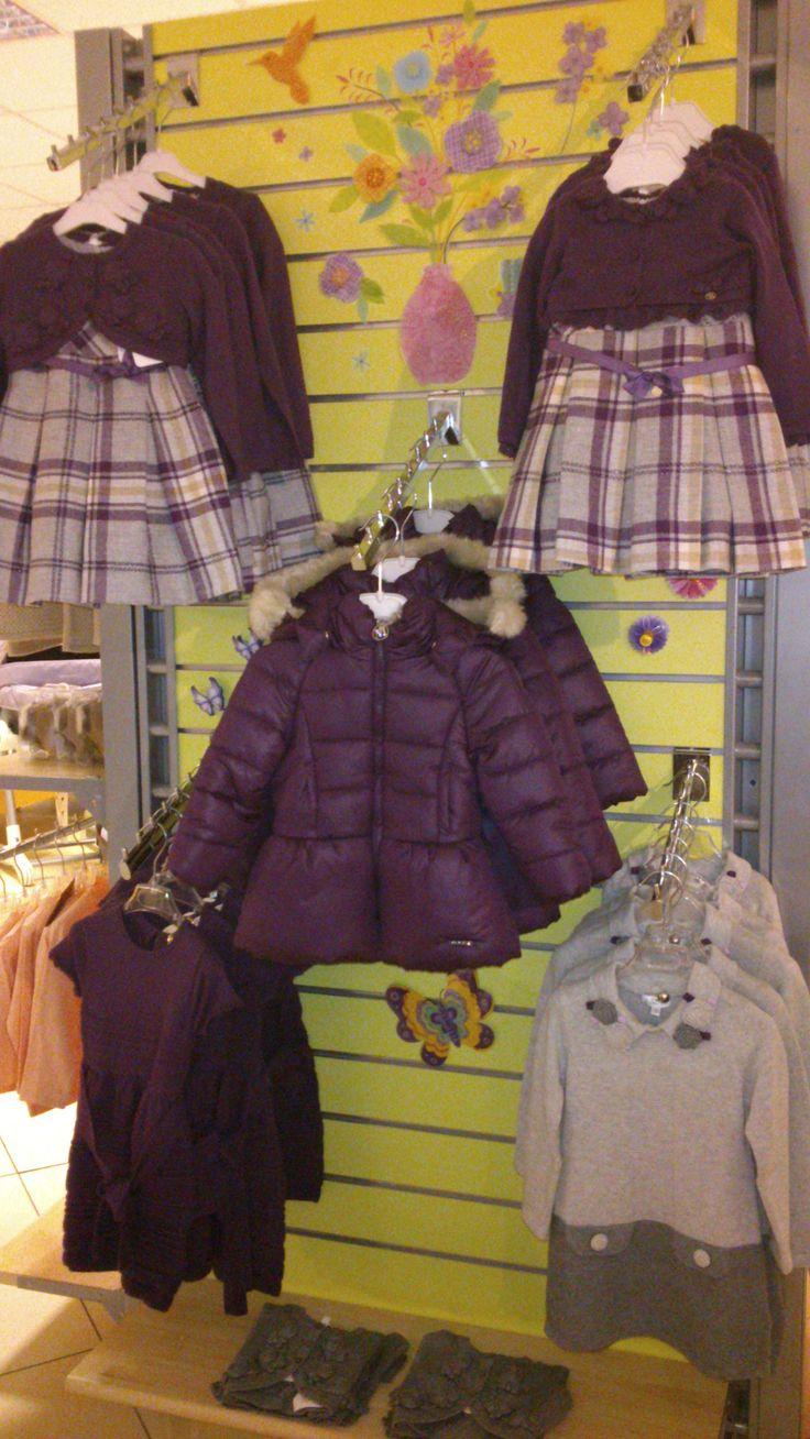 Collezione #Autunno-#Inverno. Punto vendita Nuoro, allestimento a cura di Sabrina. Collection Autumn/Winter 2013-14 #kids #Autumn #Winter #iobimbo #iobimbosardegna
